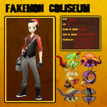 Fakemon Coliseum: Jack by T-Reqs