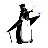Preposterous Penguin II by cow41087
