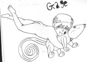 Gage as a baby again by vulpix15