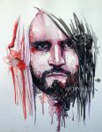 Seth rollins - Watercolor by Artbynash
