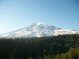 Mt.Rainier again by pokemontrainerjay