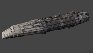 Battlecruiser - bottom view by PowerPointRanger