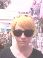 Dave has a Flower Crown hehe by Fainting-Ostrich