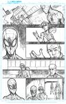 Superior Spiderman practice page three by JoeyVazquez