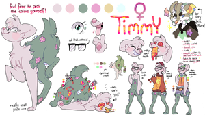 Timmy FULL REFERENCE SHEET by Iyd