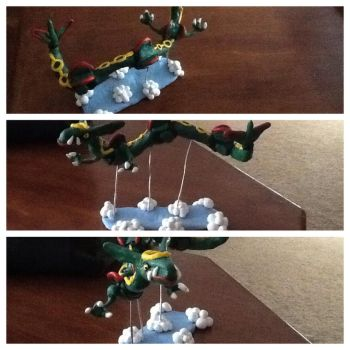 Rayquaza sculpture by alfredfjones1776