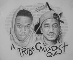 A Tribe Called Quest by IAmPencilFingerz