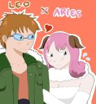 Fairy Tail: Leo x Aries by o-Raven-Cat-o