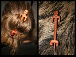 Man in the Hair by Hluthvik