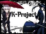 K-Project...Isana Yashiro and Yatogami Kuroh by EllishaLorraine