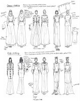 Medieval Styled Women's Clothing by TigerBomberX