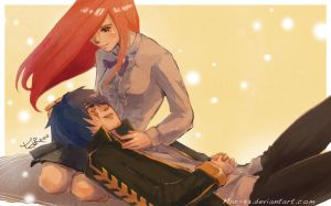 FairyTail: Jellal and Erza by MaR-93