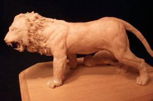 lion sculpt 1 by Cissell