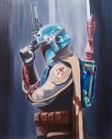 Boba Fett (Star Wars) by Withoutum