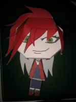 Scarlet Papercraft Attempt by GrellSutcliffFanatic