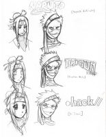 Haku and Zabuza Project 1 by Ansemaru