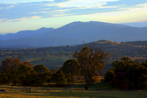 Mountains of the Murrumbidgee by WildWassa