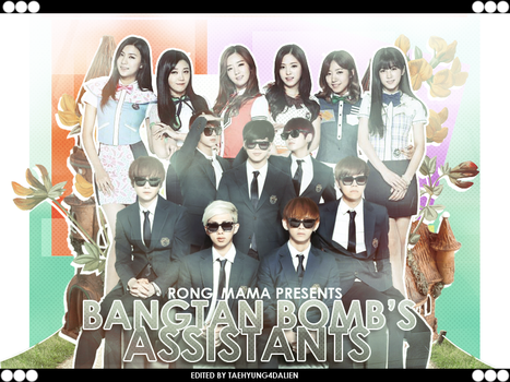 Bangtanbombs Assistants Poster by galaxytaehyung
