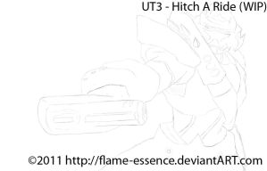 UT3 - Hitch A Ride WIP by Flame-Essence