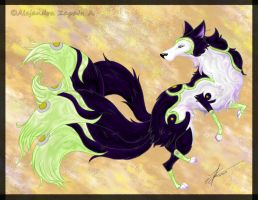 Setsuna the Wolf by srs17