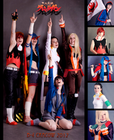 We Drill the Sky - TTGL Genderbender by Wilkoak