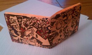 Doodle Wallet by shermcohen