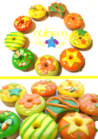 Citrusy Donuts by colourful-blossom