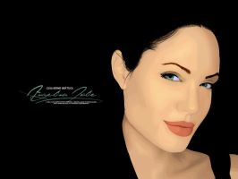 Angelina Jolie by guibertuol