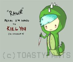 RAWR v. 2.0 by ToastyPants