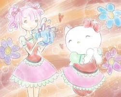 Happy Birthday Hello Kitty by MagicalGirlYossy