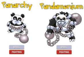Fakemon - Panarchy, Pandamonium by Trueform