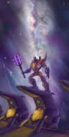 WFC Starscream by D34tHn0Te