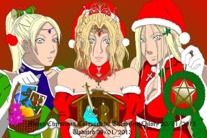 Merry Christmas by bmesias063 COLOUR UPDATED by TheSilentChloey