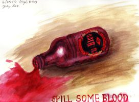 Spill Some Blood by BlaqkElectric