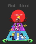 JoJo's Bizarre Adventure: Pixel blood by A-wild-vic-appears