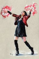 Scarlet Witch by RobD4E