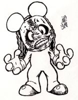 Slipknot Mickey by Nobunaga1981
