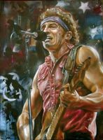 Bruce Springsteen by JackLabArt
