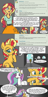 [MLP] - Ask Me: Sunset Shimmer (4) by Burning-Heart-Brony