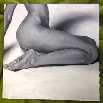 Arch - Oil painting by chaffyy