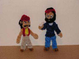 Cheech and Chong by fuzzyfigureguy