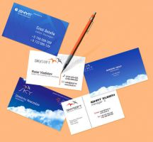 Business card series by Siteograph