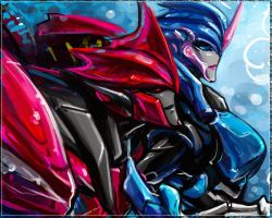 KnockOut and Arcee by Aiuke