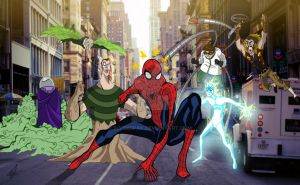 Sinister Six by sia1965pak
