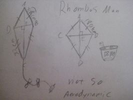 Rhombus Man by Linkz57