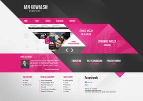 Webdesigner Layout by grb01