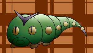 PKMNation: Caterpie Fusion Auction -CLOSED- by gaper4