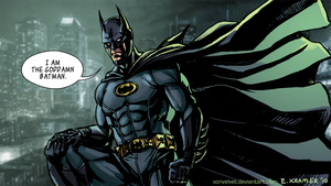 I am Batman by vonvelvet