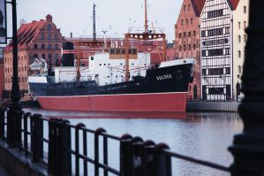 SS Soldek - 1948 coal and ore freighter. by LOK0