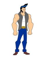 Bare Knuckle character design for animation by Infinity-Joe